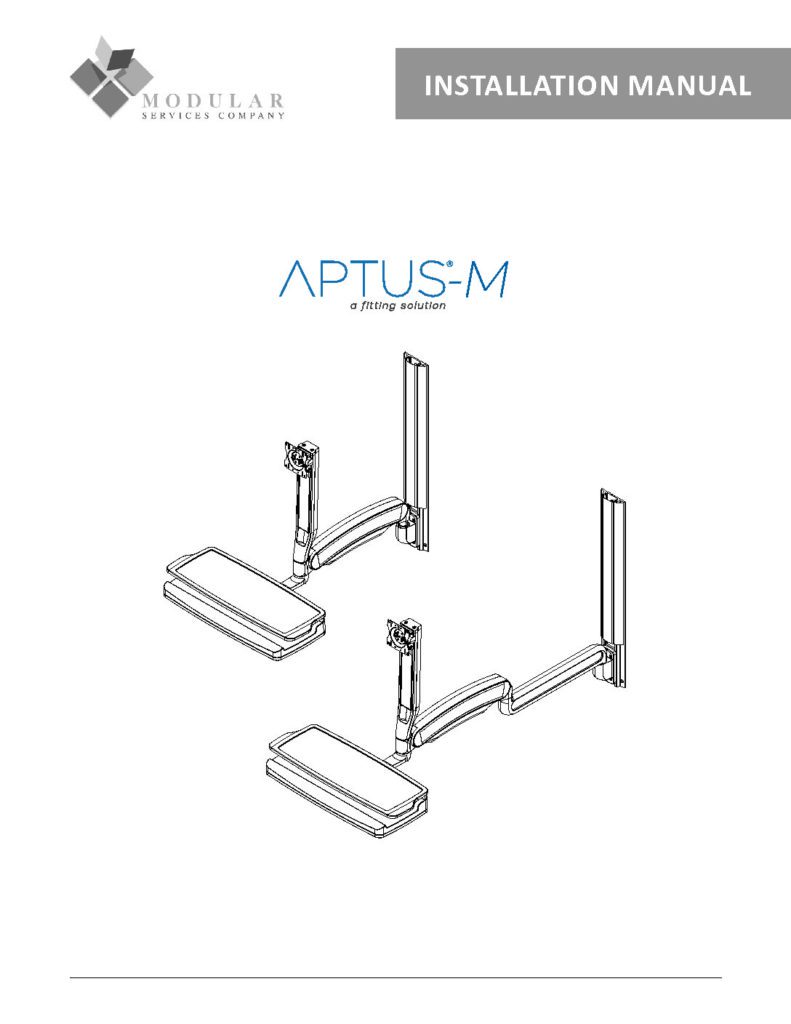APTUS® M Installation Manual