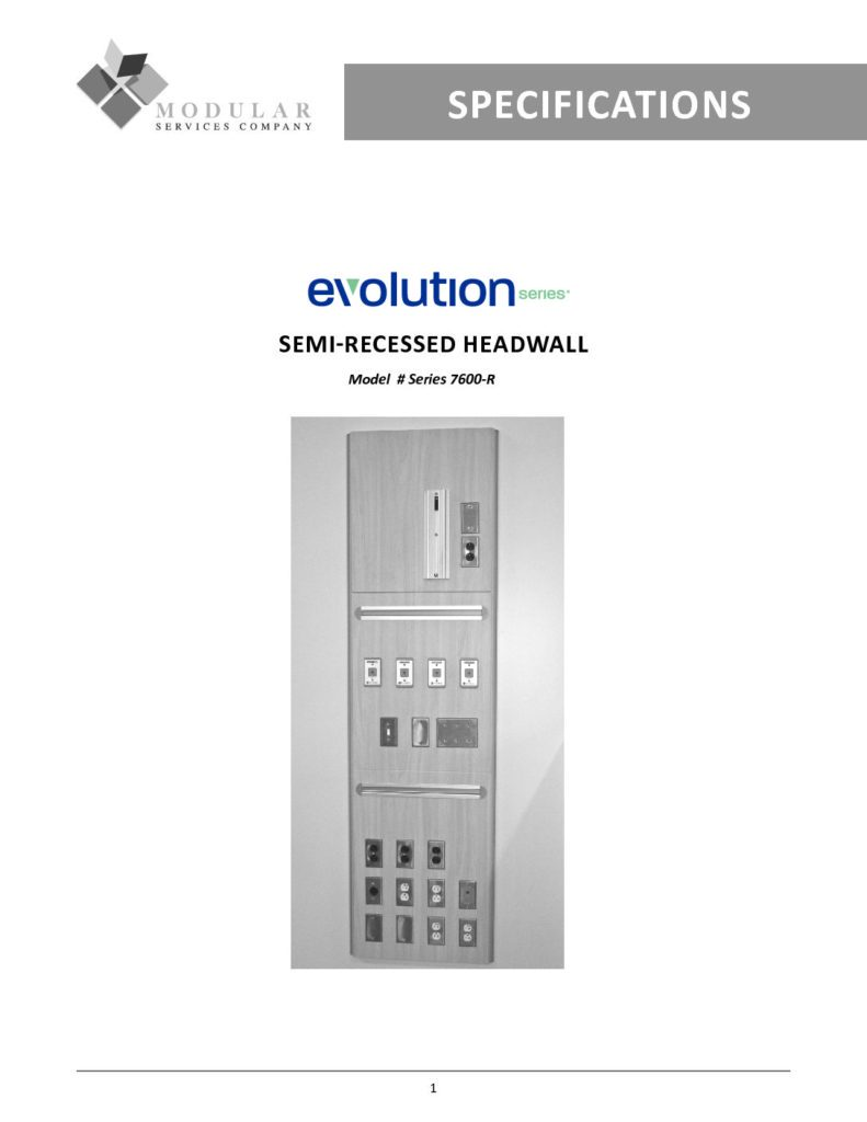 Evolution Series® 7600-R Specs