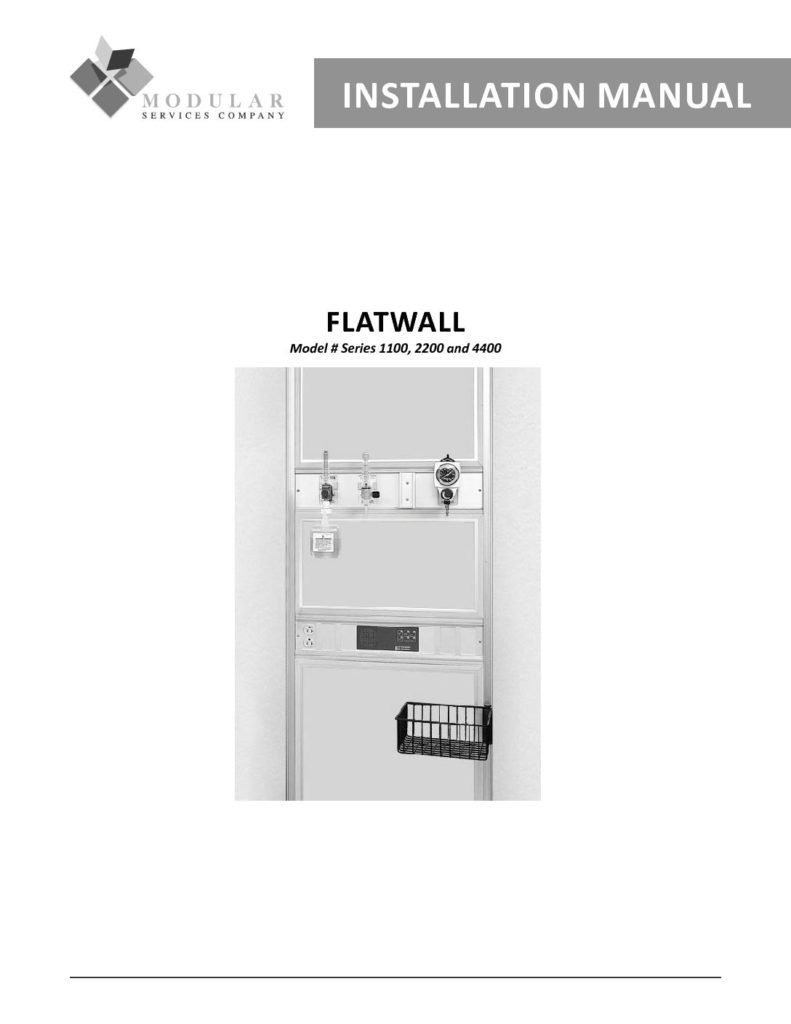 Flatwall Installation Manual