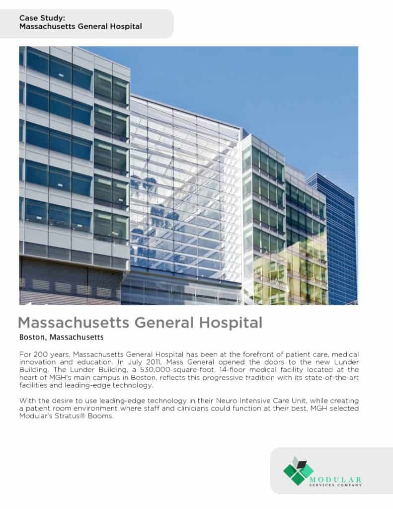 Stratus® : Massachusetts General Hospital Case Study