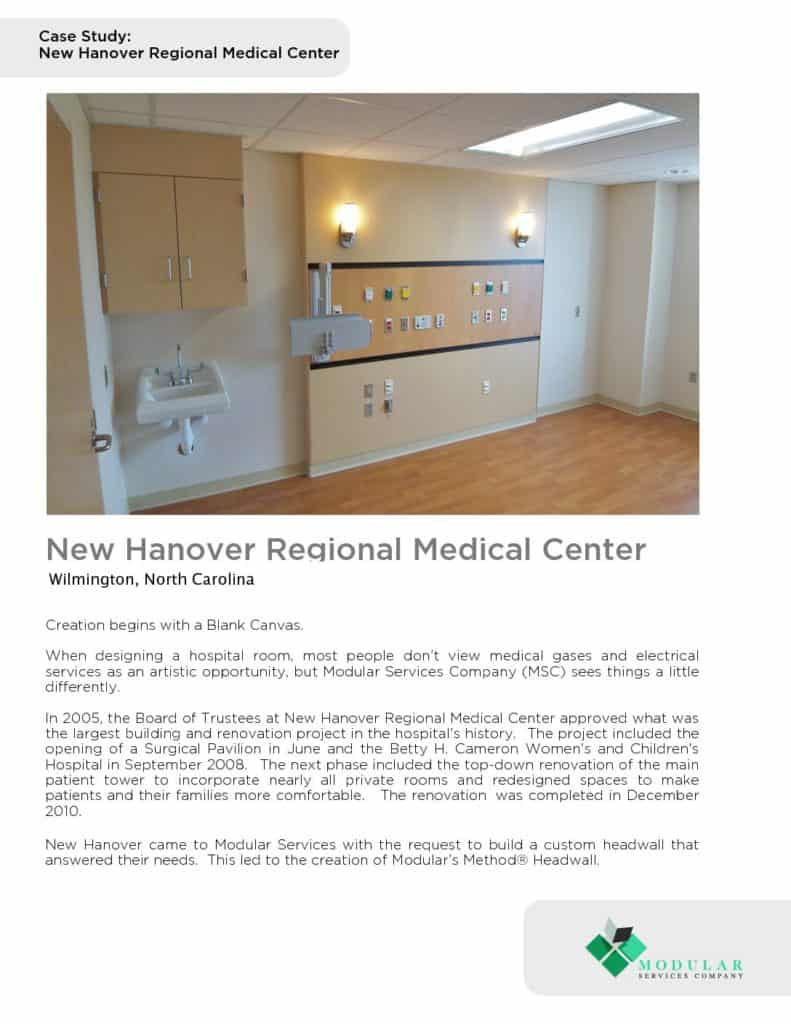 Method® : New Hanover Regional Medical Center Case Study