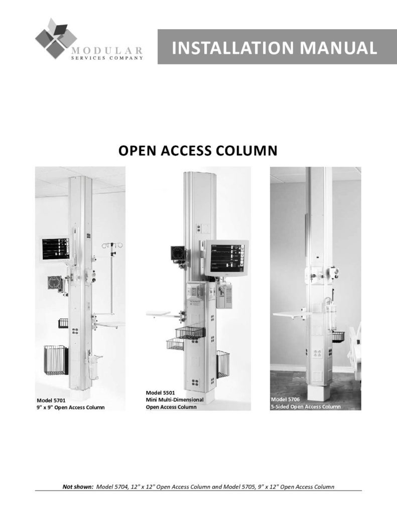 Open Access Column Installation Manual