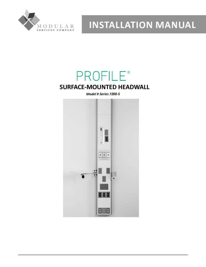 Profile® 7200-S Series Installation Manual