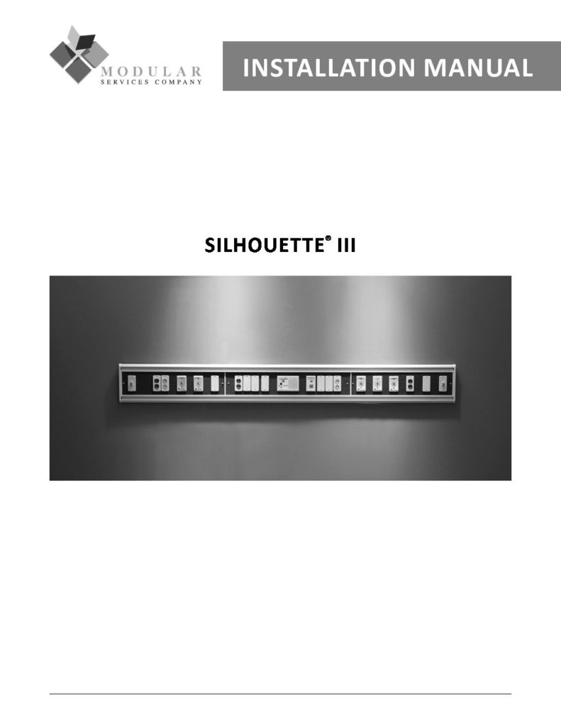 Silhouette® III Installation Manual