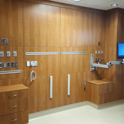 Form® Collection Headwall with Casework