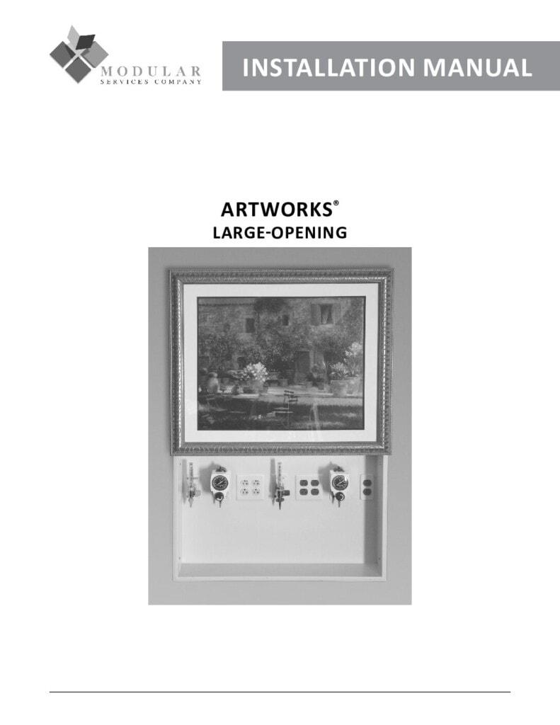 Large Opening ArtWorks® Installation Manual