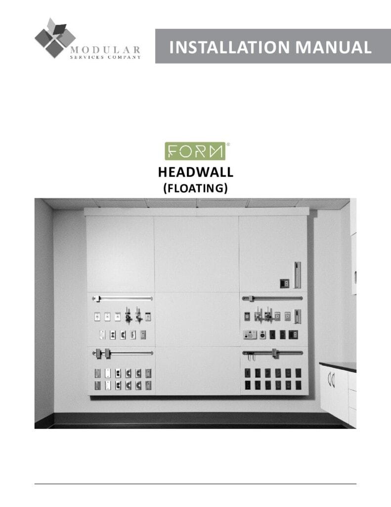 Form® Headwall (Floating) Installation Manual