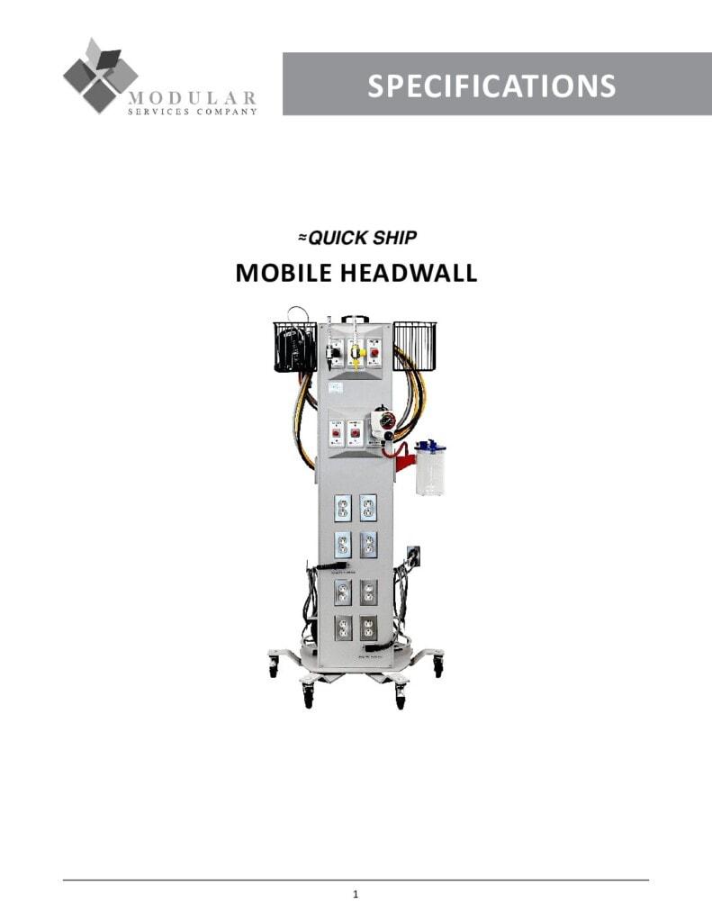 Mobile Headwall Specs